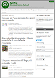 Bibliografia RIV on line EYES Reg Giornale Scienze Regionali vol5 n4 2015